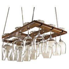 <strong>Wine Enthusiast</strong> Hanging Wine Glass Rack