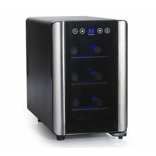 Silent 6 Bottle Single Zone Thermoelectric Wine Refrigerator