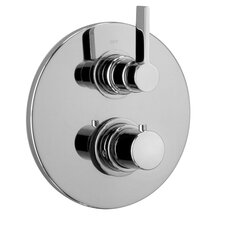 J17 Bath Series Thermostatic Valve Body with Diverter and Trim