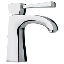 J11 Bath Series Single Lever Handle Bathroom Faucet with Arched Spout