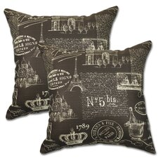 Paris Pillow (Set of 2)
