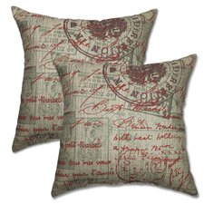 Bonjour Antique Pillow (Set of 2)