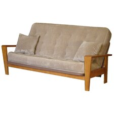 <strong>Big Tree Furniture</strong> Cambria Full Futon and Mattress