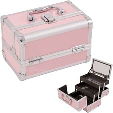 <strong>Just Case</strong> Cosmetic Makeup Train Case