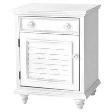 <strong>John Boyd Designs</strong> Outer Banks 1 Drawer Nightstand