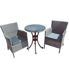3 Piece Bistro Table Set