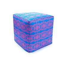 Tribal Outdoor Pouf Ottoman