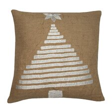Holiday Tree Jute Pillow