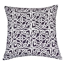 Rope Medallion Cotton Pillow