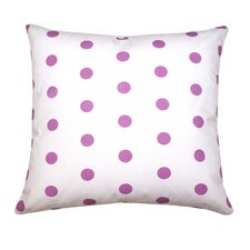Ella Polka Dots Poly Cotton Pillow