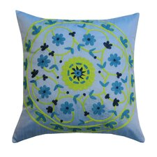 <strong>Divine Designs</strong> Suzani Polyester Pillow