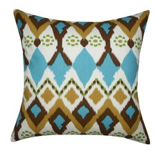 Cotton Ikat Pillow