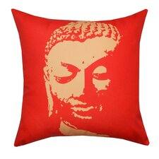 <strong>Divine Designs</strong> Buddha Face Polyester Pillow