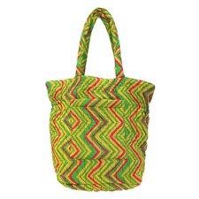 Eddie Chevron Reversible Cotton Bag