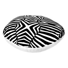 Animal Print Round Dog Pillow