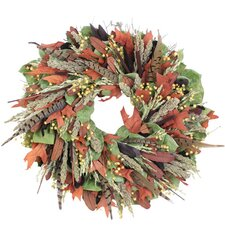 Autumn Pheasant Hill Wreath