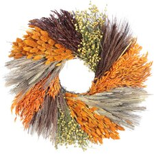 Autumn Harvest Sunset Wreath