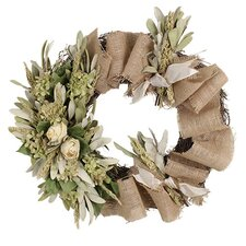 Spring / Everyday Vintage Rose Wreath