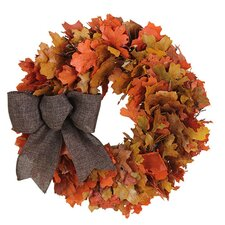 Autumn Harvest Sunrise Wreath