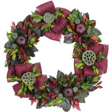 Autumn Country Pomegranate Wreath