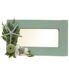 "Summer 8.5"" H x 14.5"" W Ocean Potion Mirror"