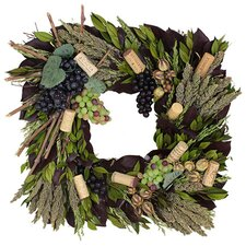 Autumn Vintage Sauvignon Wreath