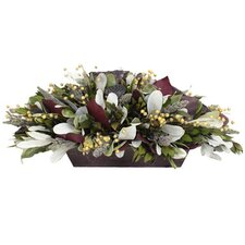 <strong>Urban Florals</strong> Autumn Festive Woodlands Desk Top Plant in Planter