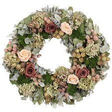 Spring / Everyday Coral Charm Wreath