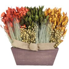 Autumn Sunflower Harvest Desk Top Plant in Planter