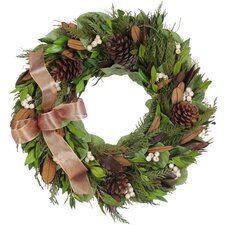 Autumn Copper Fall Wreath