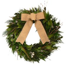 Natural Evergreen Wreath