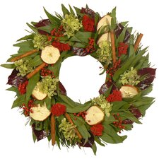 Cinnamon Apple and Spice Wreath