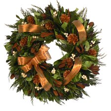 Copper Fall Wreath