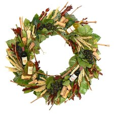 Bountiful Wine Wreath