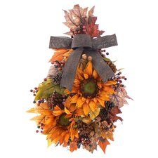 Sunflower Melody Wall Charm Wreath