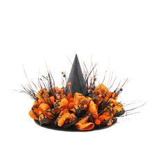 Happy Halloween Witch`S Hat Wreath