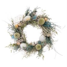 Sea Glass Coastal Wreaths Wreath