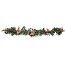 Copper Pinecone Garland