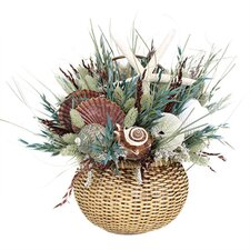 Sanibel Island Nantucket Basket