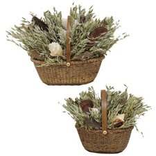Sea World Nantucket Basket Set (Set of 2)