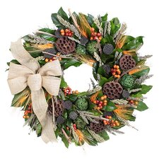 Rustic Vineyard Wreath