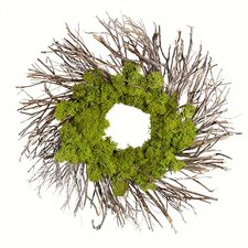 Urban Moss Wreath