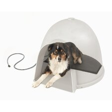 Igloo Style Heated Dog Dome