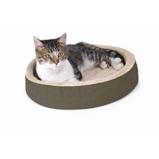 <strong>K&H Manufacturing</strong> Cuddle Up Heated Cat Bed in Mocha