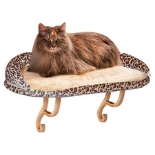 Deluxe Kitty Sill with Bolster Cat Bed Perch
