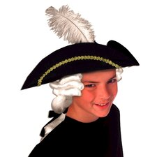 Kid's Colonial Hat with Wig