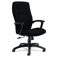 High-Back Tilter Chair with Arms