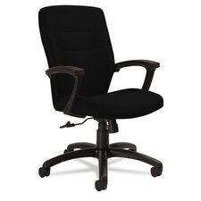 <strong>Global</strong> Medium-Back Tilter Chair with Arms