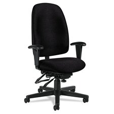 High-Back Multi-Tilter Chair with Arms