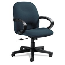 <strong>Global</strong> Low-Back Swivel or Tilt Chair with Arms